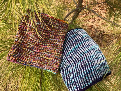 Rhythm in the Needles Cowl